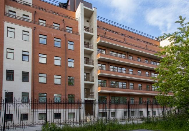 Завершение работ на объекте госпиталь Управления ФСБ