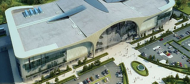 Завершение работ в многофункциональном  комплексе «Pearl Plaza»