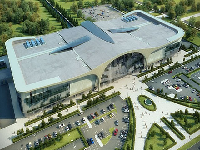 Многофункциональный комплекс «Pearl Plaza» на территории Балтийской жемчужины