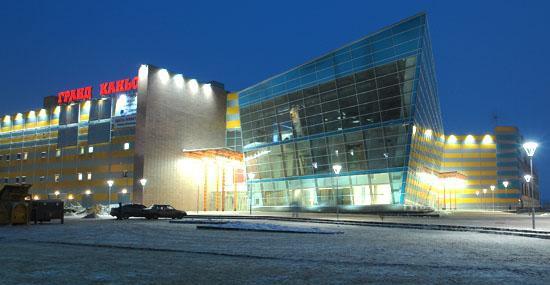 Завершение работ на объекте ОАО «Соломон» в ТРК «Гранд Каньон»