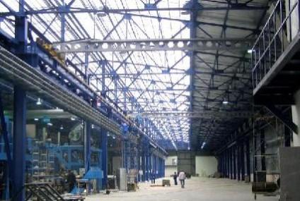 Завершение работ на объекте завод горячего цинкования «Агрисовгаз» г. Тосно, Ленинградская область