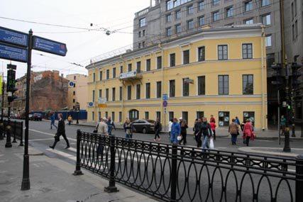 Завершение работ на объекте бизнес-центр – Дом Дельвига  (ГИОП) г.Санкт-Петербург