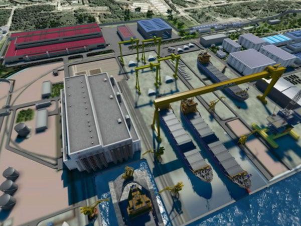 Cубгенеральное проектирование цеха Дальневосточного завода«Звезда»