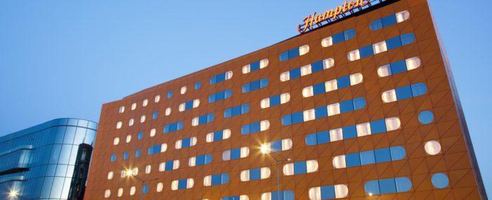 Гостиница Hampton by Hilton St. Petersburg ExpoForum, Санк-Петербург, монтаж инженерных систем