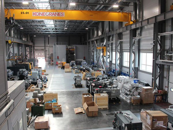 Завод по производству судовых двигателей г. Тосно, Ленинградская область