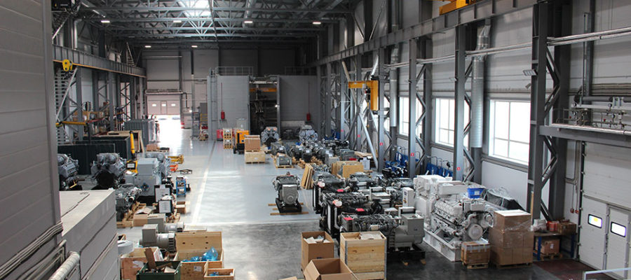 Завод «Морские Пропульсивные Системы», проектирование и монтаж инженерных систем