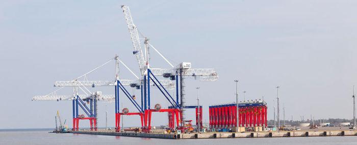 Порт «Бронка» г. Ломоносов, г. Санк-Петербург, проектирование и монтаж инженерных систем
