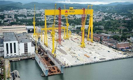 Генеральное проектирование реконструкции цеха 209 дальневосточного завода«Звезда»