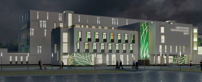Монтаж комплекса механических систем регионального реабилитационного центра в Ленинградской области г. Коммунар